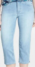 Not Your Daughters Jeans Tummy Tuck NYDJ Crop Jeans Size 8P