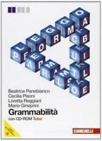 Grammabilità, Zanichelli scuola, Panebianco ( NO CD-ROM ) codice:9788808268426