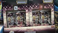 YuGiOh Legendary Duelists: Season 2 | Sealed Box of 2 Packs | 18 Cards Per Pack