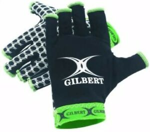 Gilbert Xact Rugby Gloves Mens XS Kids Boys X Grip Stick Mitts Compression