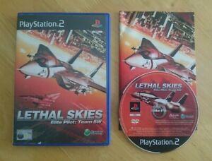 PS2 - Lethal Skies: Elite Pilot: Team SW - Complete