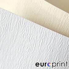 Bastelkarton Papier  mit  Textur Matt  DIN A4 230g 20 Bl. Cremefarbe