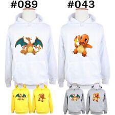 Pokemon Charmander Charmeleon Charizard Couple Sweatshirt Hoodies Graphic Hoody