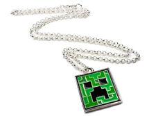 Minecraft Creeper Pendant Necklace