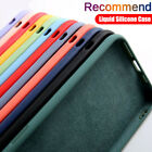 Handy Hülle für Apple iPhone 13 Pro Max 12 11 X XR XS 7 8 6S Case Silikon Cover