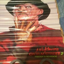 NIGHTMARE ON ELM STREET 2 freddy store  stock rare  POSTER  SEE PICS  ANY DAMAGE