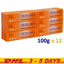 12 x 100g Neotica Balm Analgesic Cream Relief of Muscular Aches and Pains