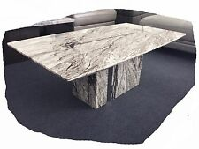 Nicola 1250x700 Marble Coffee Table with Mirror Detail - BRAND Nicola