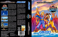 Pirates of Dark Water (Eu PAL) Sega Megadrive Replacement Box Art Case Insert