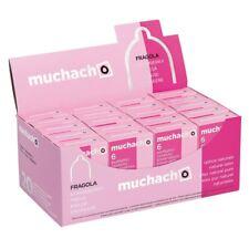 120 preservativi MUCHACHO FRAGOLA aromatizzati 20 scatole da 6 + Durex