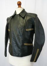 Vintage WW2 Horsehide Leather German Flight Luftwaffe Jacket Small 38R LD157