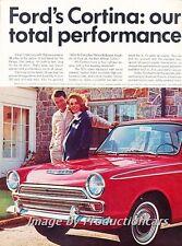 1967 Ford Cortina GT Original 2-page Advertisement Print Art Car Ad J805