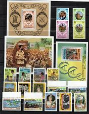 GRENADA STAMP Collection QEII  Unmount Mint 1979-85 inc MINI SHEETS Ref:OR2