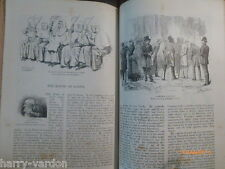 Harry Furniss House of Lords Politics Antique Victorian Illustrated Article 1885