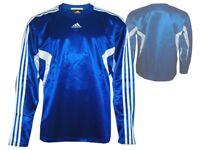 adidas Euro Club Jersey Langarm blau Basketball Shooting Shirt Trikot Gr. XL
