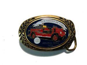 Fireman's Brass Belt Buckle #21 ~ 1926 Bulldog Mack ~ Chariots of Fire