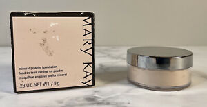 NOS Mary Kay Mineral Powder Foundation Ivory 1 Shade- NIB RARE 040984