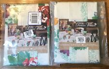"""2 The Pioneer Woman Country Garden Tablecloth, 52"""" x 70"""" Floral Rectangle New"""