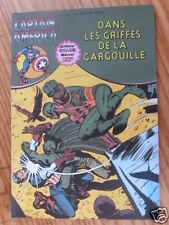 """BD CAPTAIN AMERICA DANS LES GRIFFES DE LA GARGOUILLE"""" AREDIT 1979, TRES BON ETAT"""