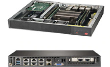 SuperMicro SYS-E300-9D-8CN8TP Skylake D, X11SDV-8C-TP8F, E300 + 150W power adapt
