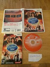 KARAOKE REVOLUTION PRESENTS AMERICAN IDOL: ENCORE 2 game only for Nintendo Wii
