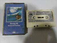 BONEY M OCEANS OF FANTASY CINTA TAPE CASSETTE 1979 SPANISH ED PAPER LABELS