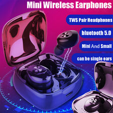 Dual Wireless bluetooth 5.0 Earphone Earbuds For Android IOS Universal  ☆ @ % d