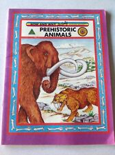 HOW AND WHY Activity WONDER BOOK PREHISTORIC ANIMALS RARE