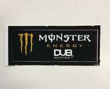 Monster Energy Drink DUB EDITION Sticker (1) Unused NOS