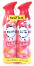 2 Pack Febreze Air 8.8 Oz Limited Edition Peony & Cedar Air Refresher Spray