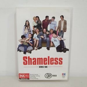 Shameless UK Season 2 DVD Region 4 (2 Disc Set) David Threlfall James McAvoy