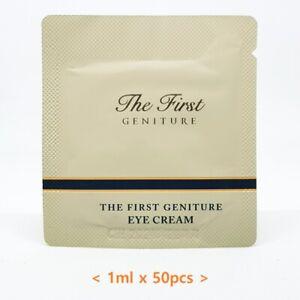O HUI The First Geniture Eye Cream 1ml x 50pcs Anti Wrinkle Moisture K-Beauty