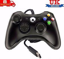 2017 USB Cablato Xbox 360 Controller Game Pad per Xbox 360 Microsoft PC Windows UK