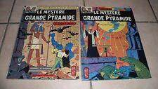 LE MYSTÈRE DE LA GRANDE PYRAMIDE tome 1 et 2 - Black et Mortimer - 1969 BE+