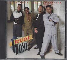 "RUDE BOYS  ""Rude Awakening""  NEW SEALED R&B CD (1990)  RARE  OOP"