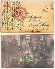 Foto Ak Kuk Soldaten prächtiger Christbaum Türkei Fahne Hall Zensur Stempel 1915