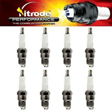 Nitrode Performance Spark Plugs for Chevy 1970-1974 C10 Pickup NP22 - Set of 8
