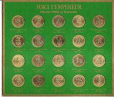 Collection Total du bicentenaire 20 médailles Voici L'Empereur