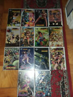Zombies Vs Cheerleaders Collection~Moonstone & 3 Finger Prints (14 comics)