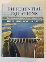 Differential Equations An Introduction to Modern Methods by Brannan, James R.