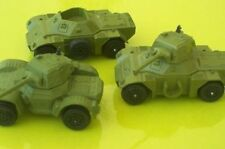 Dinky Toys 3 vehicules militaires anglais.Scout Daimler