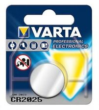 VARTA CR2025 Batteria 3V LITIO a BOTTONE in Blister Scad.2024