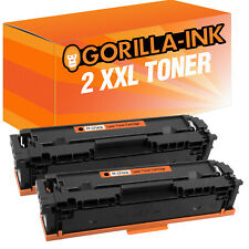 Laser Toner Kartuschen Toner Patronen 2er Black für HP CF540A CF540 A CF 540 A