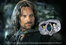 Lord Of The Rings Ring Of Aragorn Sterling Silver Collectable Men's Jewelry