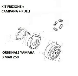 Clutch Set + Bell + Rolls Original Yamaha X Max 250 x-Max 2010 2011 2012