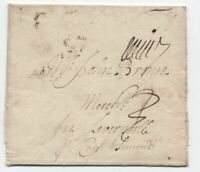 1715 Philadelphia PA stampless letter to England [F.11]