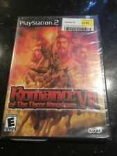 Romance of the Three Kingdoms VII (Sony PlayStation 2 Brand New Factory Sealed