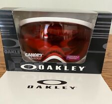 Oakley Canopy Prism Ski/Snowboard Goggles (Matte White, Rose)