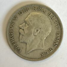 1930 George V Silver Half Crown Coin