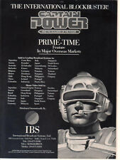 Captain Power And The Soldiers Of The Future 1987 Ad- international blockbuster